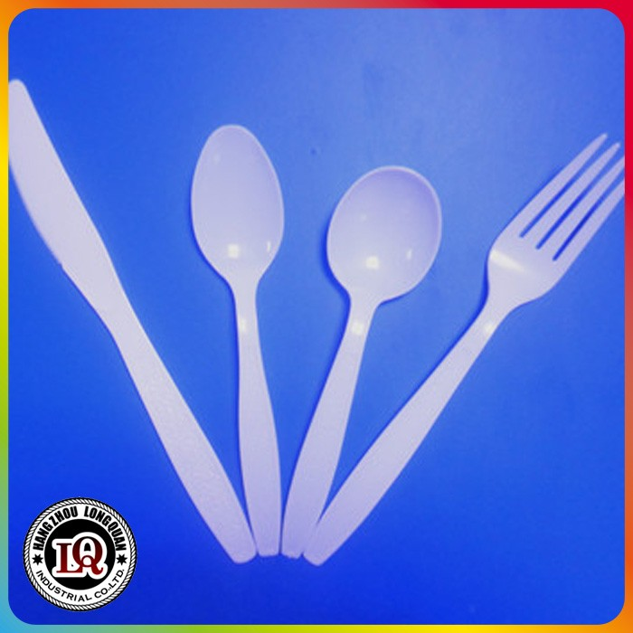 disposable plastic 6g cutlery set